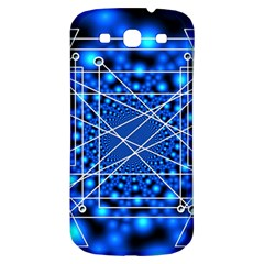 Network Connection Structure Knot Samsung Galaxy S3 S Iii Classic Hardshell Back Case