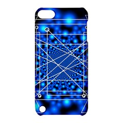 Network Connection Structure Knot Apple Ipod Touch 5 Hardshell Case With Stand