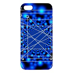 Network Connection Structure Knot Apple Iphone 5 Premium Hardshell Case