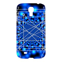 Network Connection Structure Knot Samsung Galaxy S4 I9500/i9505 Hardshell Case