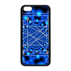 Network Connection Structure Knot Apple Iphone 5c Seamless Case (black)