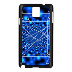 Network Connection Structure Knot Samsung Galaxy Note 3 N9005 Case (black)