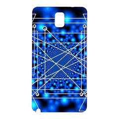Network Connection Structure Knot Samsung Galaxy Note 3 N9005 Hardshell Back Case