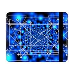 Network Connection Structure Knot Samsung Galaxy Tab Pro 8 4  Flip Case