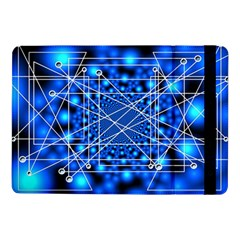Network Connection Structure Knot Samsung Galaxy Tab Pro 10 1  Flip Case