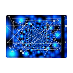 Network Connection Structure Knot Ipad Mini 2 Flip Cases