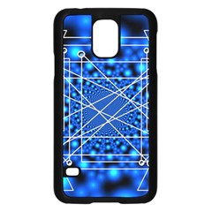 Network Connection Structure Knot Samsung Galaxy S5 Case (black)