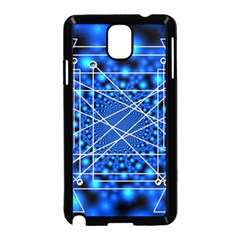 Network Connection Structure Knot Samsung Galaxy Note 3 Neo Hardshell Case (black)