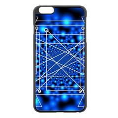 Network Connection Structure Knot Apple iPhone 6 Plus/6S Plus Black Enamel Case