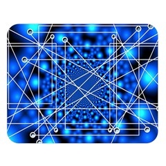 Network Connection Structure Knot Double Sided Flano Blanket (large)