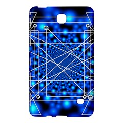 Network Connection Structure Knot Samsung Galaxy Tab 4 (8 ) Hardshell Case