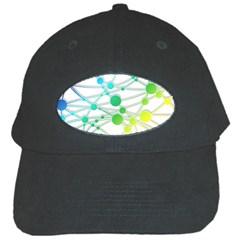 Network Connection Structure Knot Black Cap