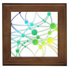 Network Connection Structure Knot Framed Tiles