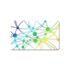 Network Connection Structure Knot Magnet (name Card)