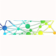 Network Connection Structure Knot Large Bar Mats
