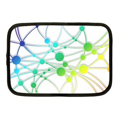 Network Connection Structure Knot Netbook Case (medium)