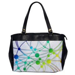 Network Connection Structure Knot Office Handbags