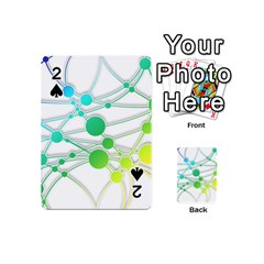 Network Connection Structure Knot Playing Cards 54 (mini)