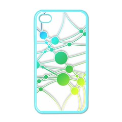 Network Connection Structure Knot Apple Iphone 4 Case (color)