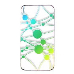 Network Connection Structure Knot Apple Iphone 4/4s Seamless Case (black)