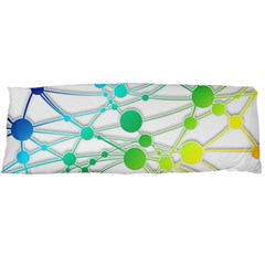 Network Connection Structure Knot Body Pillow Case Dakimakura (two Sides)