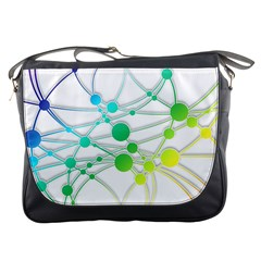 Network Connection Structure Knot Messenger Bags