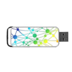 Network Connection Structure Knot Portable Usb Flash (one Side)