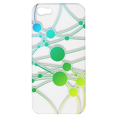 Network Connection Structure Knot Apple Iphone 5 Hardshell Case