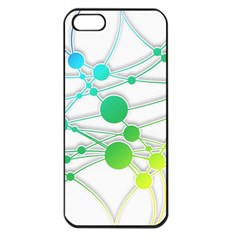 Network Connection Structure Knot Apple Iphone 5 Seamless Case (black)