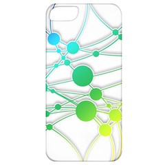 Network Connection Structure Knot Apple Iphone 5 Classic Hardshell Case