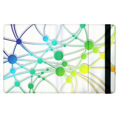 Network Connection Structure Knot Apple Ipad 3/4 Flip Case