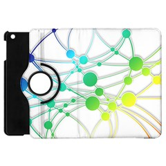 Network Connection Structure Knot Apple Ipad Mini Flip 360 Case