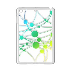 Network Connection Structure Knot iPad Mini 2 Enamel Coated Cases