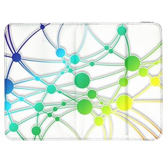 Network Connection Structure Knot Samsung Galaxy Tab 7  P1000 Flip Case