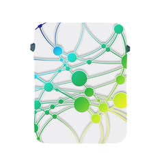 Network Connection Structure Knot Apple Ipad 2/3/4 Protective Soft Cases