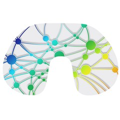 Network Connection Structure Knot Travel Neck Pillows