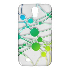 Network Connection Structure Knot Samsung Galaxy Mega 6 3  I9200 Hardshell Case