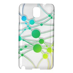 Network Connection Structure Knot Samsung Galaxy Note 3 N9005 Hardshell Case