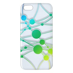 Network Connection Structure Knot Iphone 5s/ Se Premium Hardshell Case