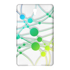 Network Connection Structure Knot Samsung Galaxy Tab S (8 4 ) Hardshell Case