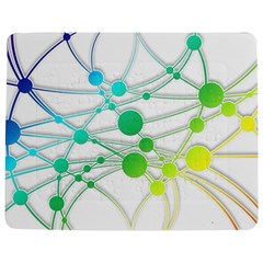 Network Connection Structure Knot Jigsaw Puzzle Photo Stand (rectangular)
