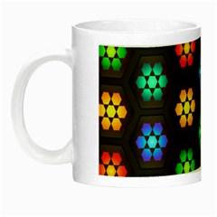 Pattern Background Colorful Design Night Luminous Mugs