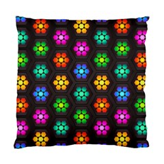 Pattern Background Colorful Design Standard Cushion Case (one Side)
