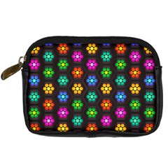 Pattern Background Colorful Design Digital Camera Cases