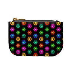 Pattern Background Colorful Design Mini Coin Purses