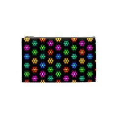 Pattern Background Colorful Design Cosmetic Bag (small)