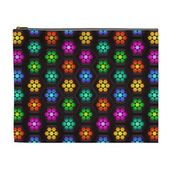 Pattern Background Colorful Design Cosmetic Bag (xl)