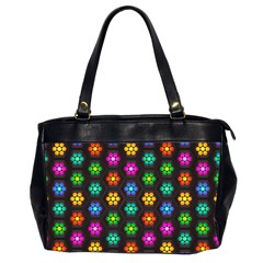 Pattern Background Colorful Design Office Handbags (2 Sides)