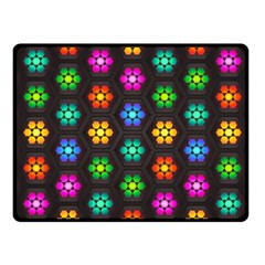 Pattern Background Colorful Design Fleece Blanket (Small)