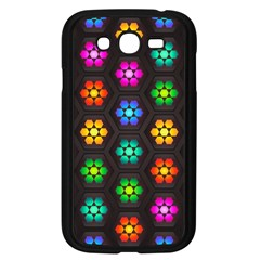 Pattern Background Colorful Design Samsung Galaxy Grand Duos I9082 Case (black)